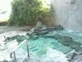 「左の湯」露天風呂