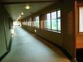 本館と新館の渡り廊下