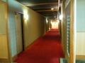 朝陽殿4階客室の廊下