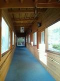 パノラマの湯への渡り廊下
