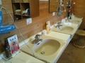 お風呂の洗面台