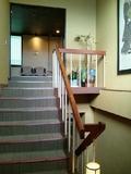 お風呂階への階段