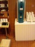 給水器と体重計