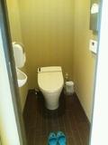大浴場の脱衣場のトイレ