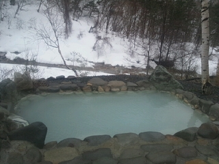 「恵の湯」露天風呂