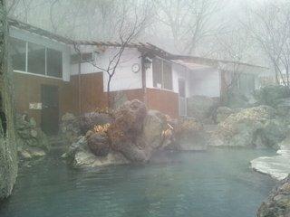 野天風呂の露天風呂