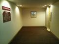 清涼館地階エレベーターホール