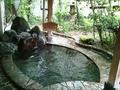 勧進の湯、露天風呂