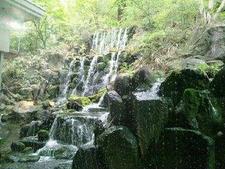 2階「厳の湯」の眺め