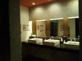 脱衣場横のトイレ