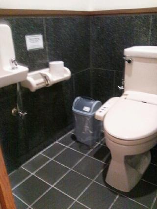 脱衣場のトイレ