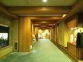 中央館から西館への3階廊下