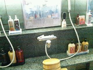 洗面台のアメニティ