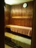 桧風呂のサウナ