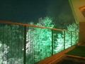 桧風呂からの眺め