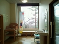 宿泊者用風呂の脱衣場