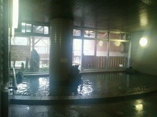 檜風呂の内湯