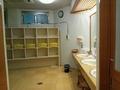 貸切り風呂「小泉の湯」脱衣場