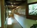 客室・大浴場への廊下