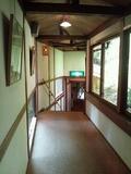 客室の廊下