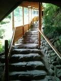 大浴場への石段