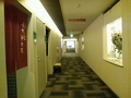 大浴場入口と地下通路