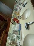 脱衣場の洗面台