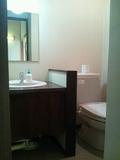 214号室のトイレ