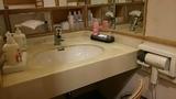 月岡湯香炉「美人の湯」の脱衣場のアメニティ
