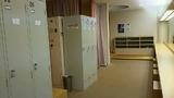 女性ロッカールーム&大浴場の脱衣場
