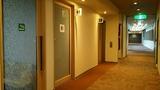 本館からパレス舘への渡り廊下