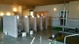 水華の湯の洗い場