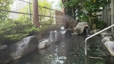 水華の湯の露天風呂