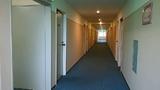 1号館2階、客室廊下