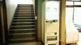 清流荘への階段