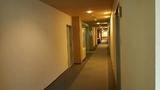 清流荘1階の客室廊下
