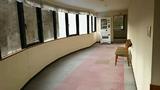 6階廊下の展望コーナー