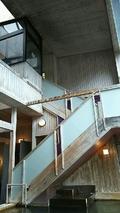 脱衣場への階段