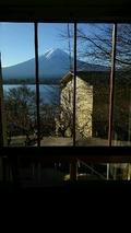 メゾネットルームの和室からの眺め