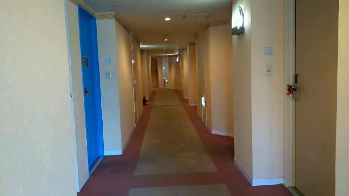 9階客室廊下