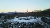浅間山側の部屋からの眺め