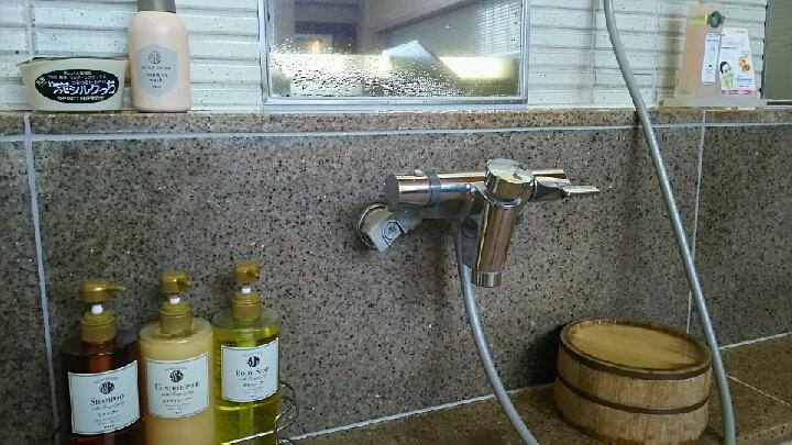 洗い場のアメニティ