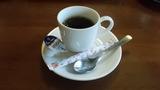 食後にコーヒー