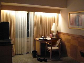 スパも楽しめる都会的なホテル