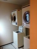 洗濯機は、8Fにあります。