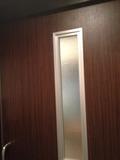 屋上風呂 ドアです。