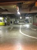 地下駐車場です。
