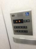 エレベーターバリアフリーです。