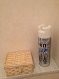 トイレ消臭剤も完備です。