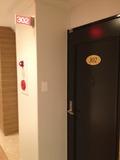 部屋 入り口写真です。